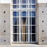 Detailansicht des Schützenhauses von Otto Wagner