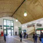 Aufnahmehalle der Station Währinger Straße (U6) von Otto Wagner