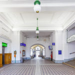 Aufnahmehalle der Station Gersthof (S45) von Otto Wagner