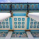 Detailansicht der Villa Wagner I von Otto Wagner