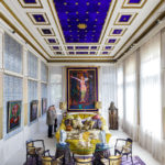 Der Blaue Salon in der Villa Wagner I wurde von Otto Wagner als Billardzimmer genutzt