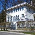 Außenansicht der Villa Wagner II im Jugendstil von Otto Wagner