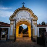 Eingangsportal des Friedhofs Sankt Severin in Passau