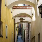 Enge Gassen in der Altstadt von Passau