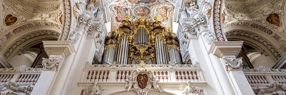 Orgel im Dom St. Stephan in Passau