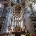 Innenansicht des Doms St. Stephan (Stephansdom) in Passau