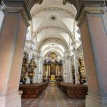 Innenansicht der Jesuitenkirche St. Michael in Passau