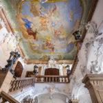 Das barocke Treppenhaus in der Residenz Passau
