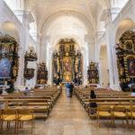 Innenansicht der Stadtpfarrkirche St. Paul in Passau