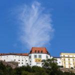Blick auf die Festung Veste Oberhaus in Passau
