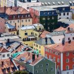 Ausblick von der Veste Oberhaus auf die Altstadt von Passau