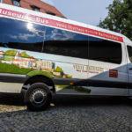 Pendelbus auf die Veste Oberhaus in Passau