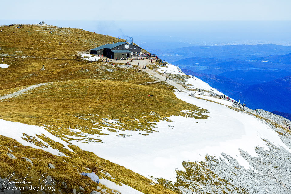 Fischerhütte auf dem Schneeberg