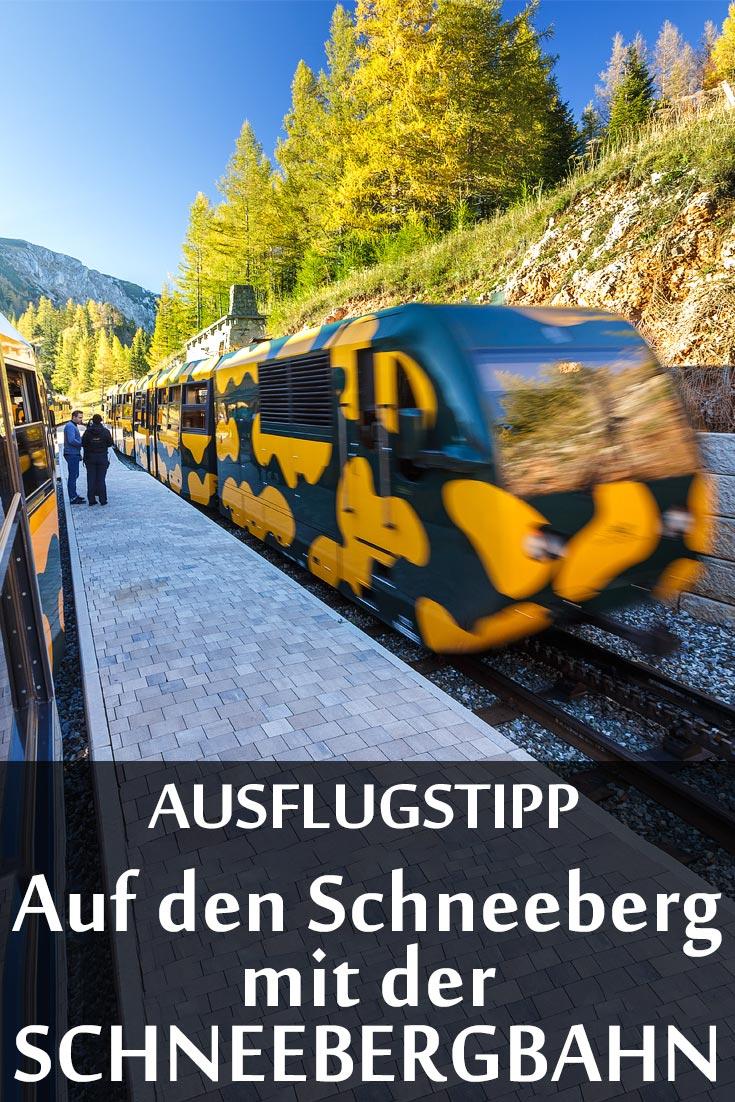 Schneebergbahn: Erfahrungsbericht mit Wandertipps, den besten Fotospots und Restaurantempfehlungen.