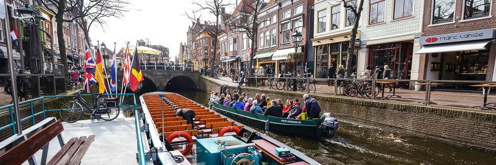 Grachtenrundfahrt in Alkmaar