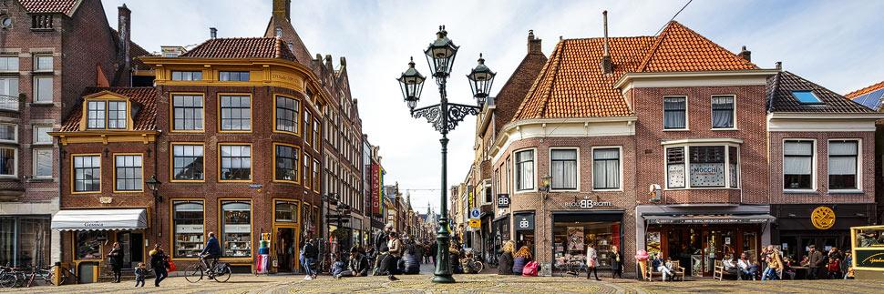 Einkaufsstraße Langestraat in Alkmaar