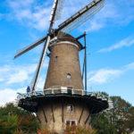Detailaufnahme der Mühle De Molen van Piet