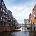Ausblick während einer Grachtenfahrt in Alkmaar