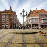 Blick auf die Shoppingmeile Langestraat in Alkmaar