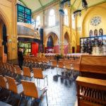 Innenansicht der Laurentiuskerk von Alkmaar