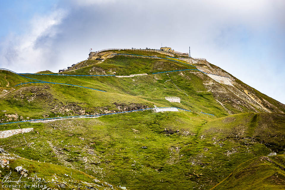 Edelweißspitze auf der Großglockner Hochalpenstraße