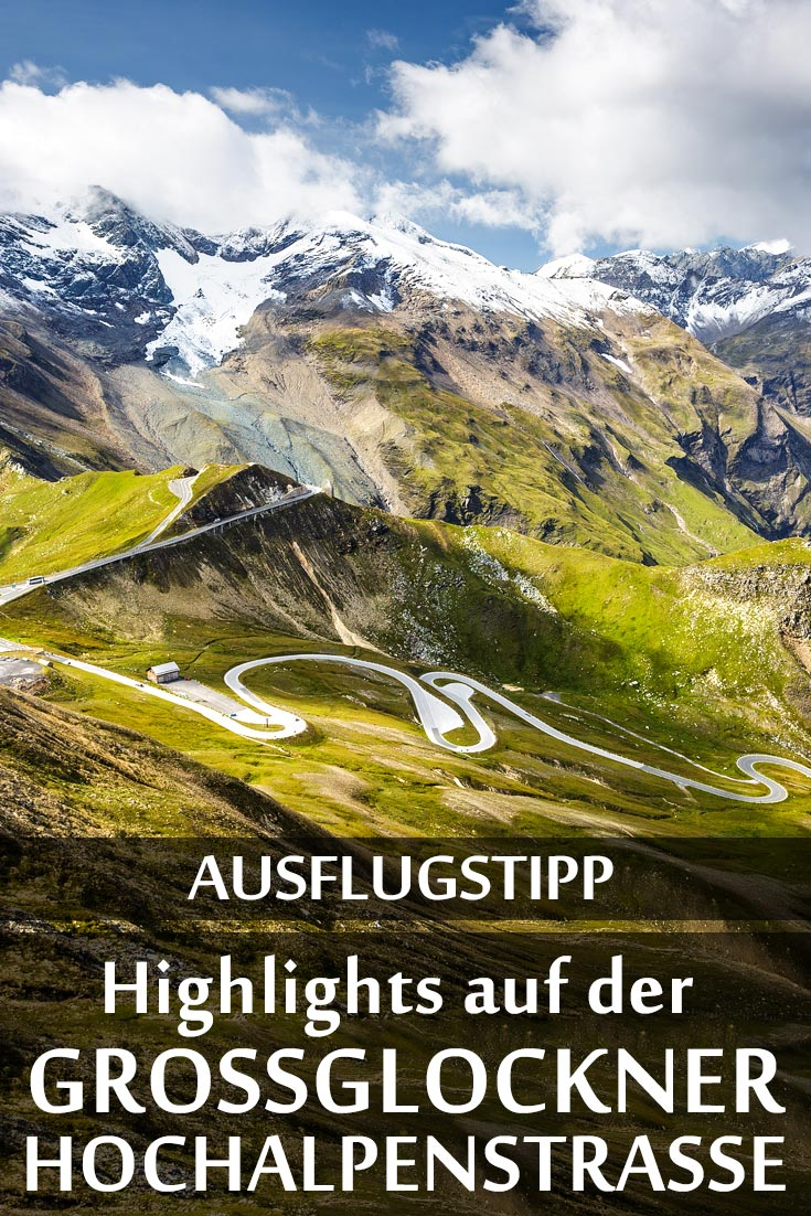 Großglockner Hochalpenstraße: Reisebericht mit Erfahrungen zu Sehenswürdigkeiten, den besten Fotospots sowie allgemeinen Tipps.