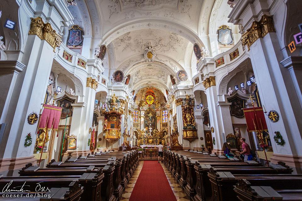 Kirche im Stift Dürnstein in der Wachau