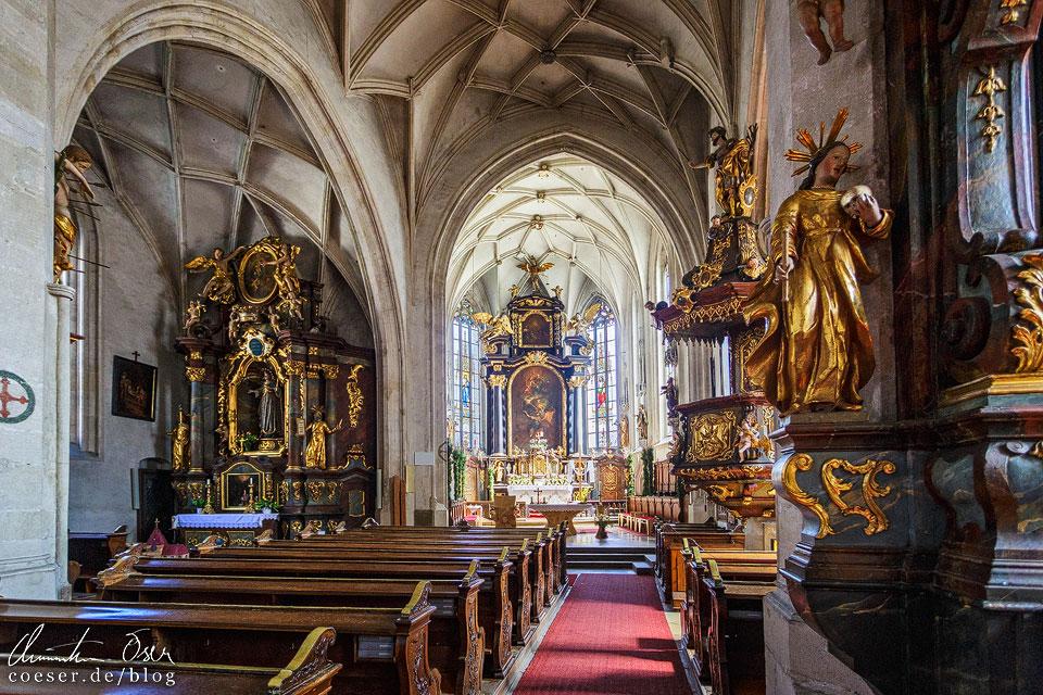 Pfarrkirche zum Hl. Mauritius in Spitz an der Donau in der Wachau