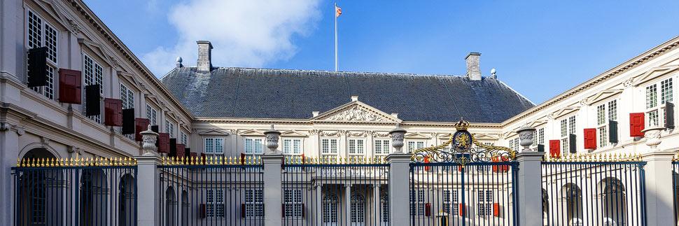Palast Noordeinde in Den Haag