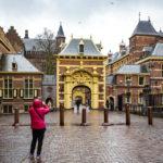 Östlicher Zugang zum Binnenhof in Den Haag