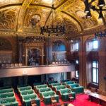 Der Senat im Binnenhof in Den Haag