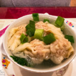 Wan-Tan-Suppe im Chinarestaurant Fat Kee in Den Haag