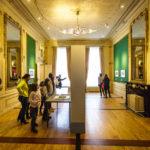 Ausstellungsraum im Escher-Museum Escher in Het Paleis in Den Haag