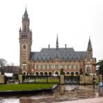 Außenansicht des Friedenspalasts (Vredespaleis) in Den Haag