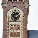 Detailansicht des Friedenspalasts (Vredespaleis) in Den Haag