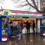 Der Fischstand Haringkraam Buitenhof in Den Haag