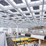 Innenansicht des Hauptbahnhofs von Den Haag