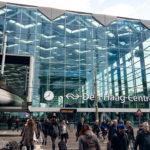 Außenansicht des Hauptbahnhofs von Den Haag