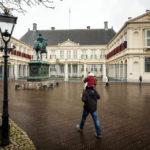 Der Palast Noordeinde (Königlicher Palast) in Den Haag