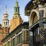 Detailaufnahme der Innenstadt von Den Haag