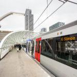 Die Metro-Linie E verbindet Den Haag und Rotterdam
