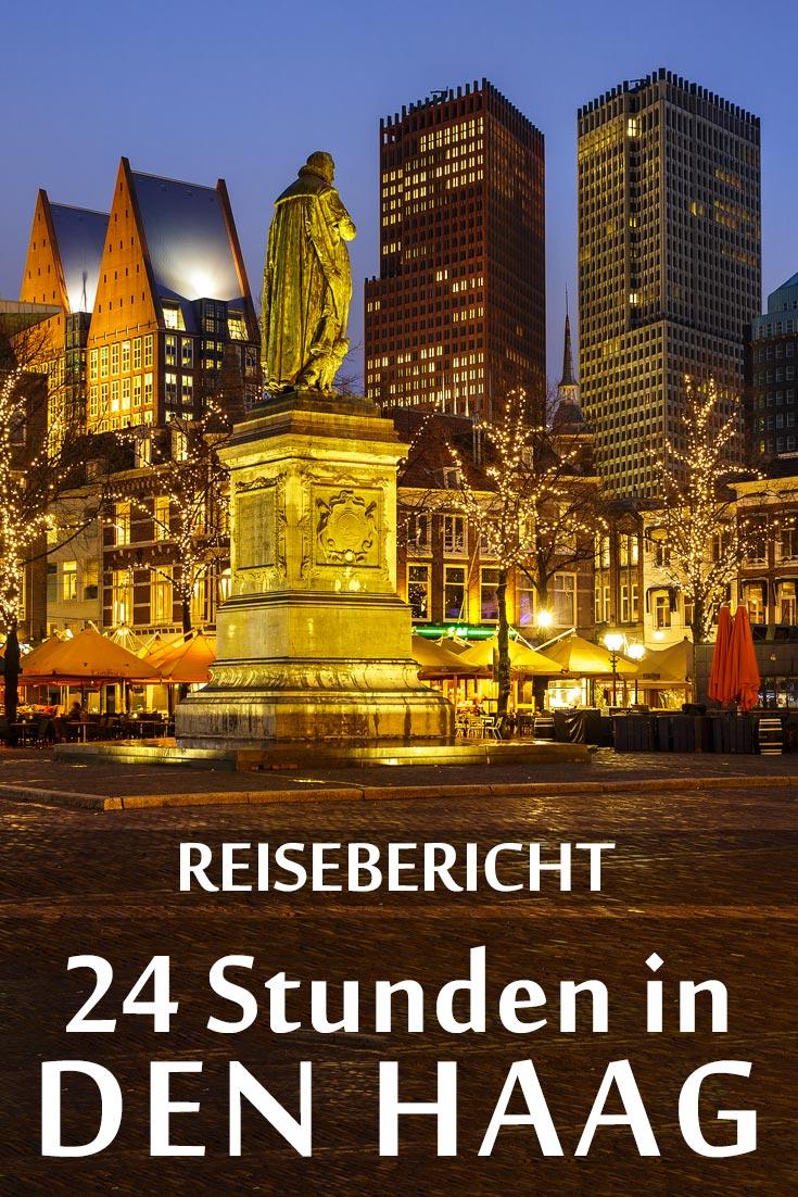 Den Haag: Reisebericht mit allen Sehenswürdigkeiten, den besten Fotospots sowie allgemeinen Tipps und Restaurantempfehlungen.
