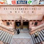Historischer Abgang in die Station Markt in Leipzig