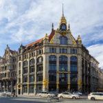 Altes Amtshaus im Jugendstil in Leipzig