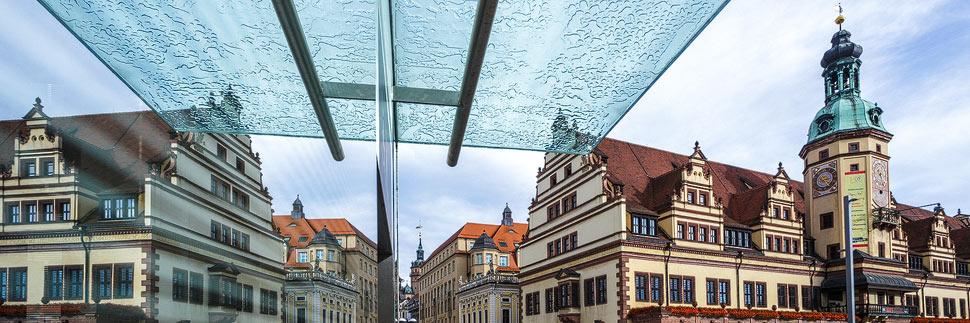 Markt und Altes Rathaus in Leipzig