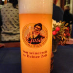 Ein Gose-Bier in der Bayerischer Bahnhof Gasthaus & Gosebrauerei