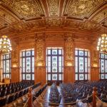 Großer Sitzungssaal im Reichsgerichtsgebäudes/Bundesverwaltungsgericht in Leipzig