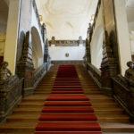 Haupttreppe im Neuen Rathaus in Leipzig