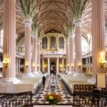 Innenansicht der Nikolaikirche in Leipzig
