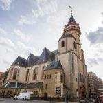 Außenansicht der Nikolaikirche in Leipzig